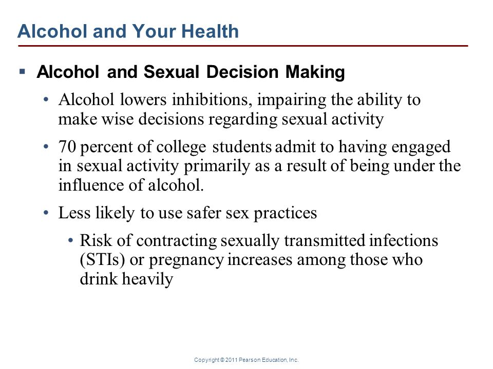 Alcohol and Your Health