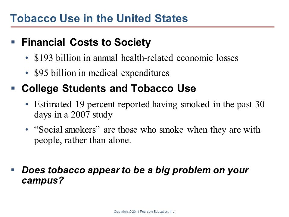 Tobacco Use in the United States