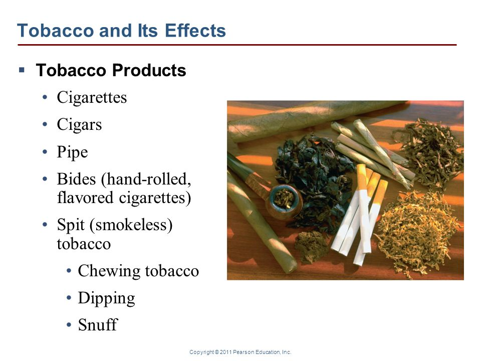 Tobacco and Its Effects