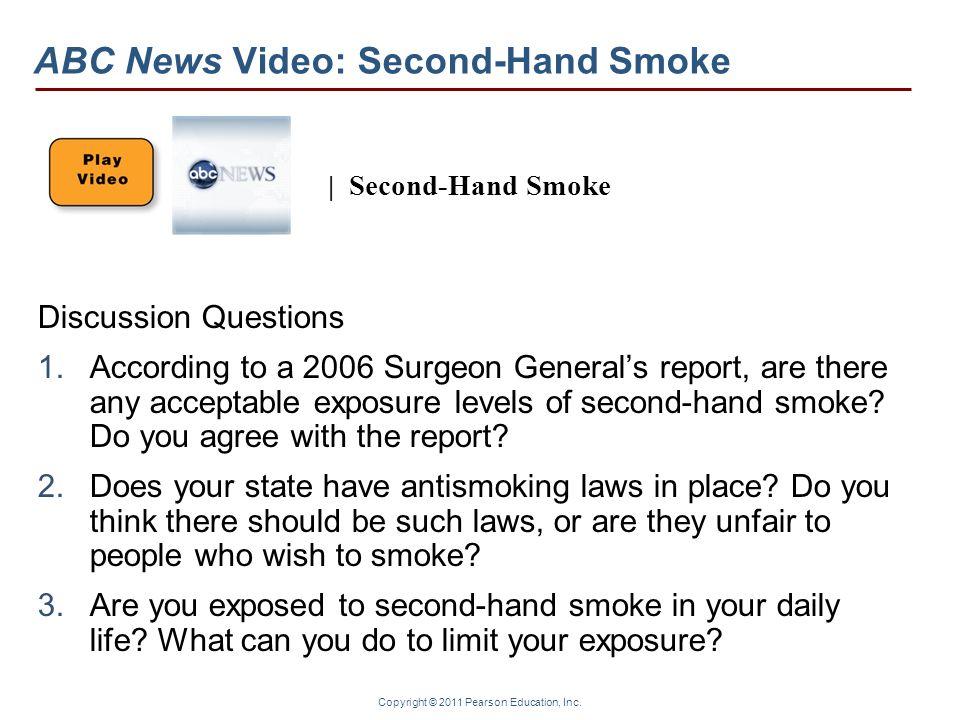 ABC News Video: Second-Hand Smoke