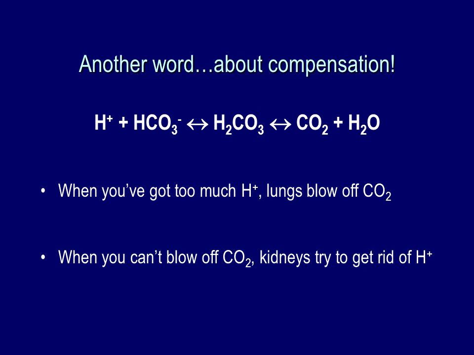 Another word…about compensation!