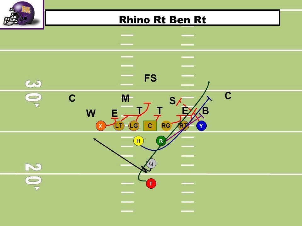 Rhino Rt Ben Rt FS C C M S T T E B W E X RT LG RG LT C Y H R Q T