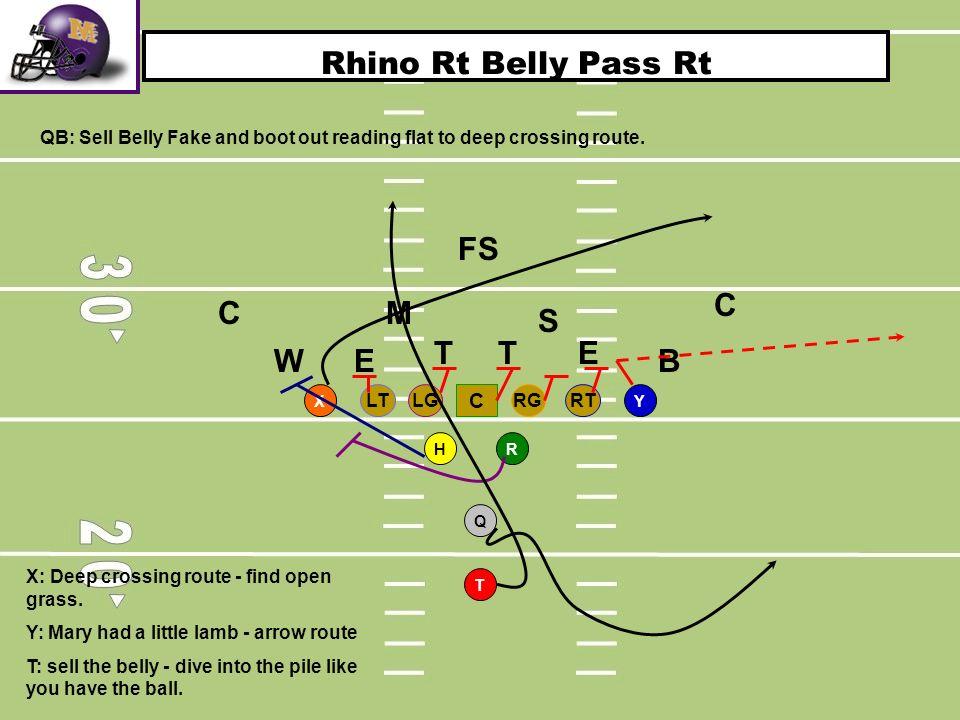 Rhino Rt Belly Pass Rt FS C C M S T T E W E B C