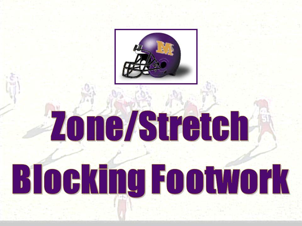 Zone/Stretch Blocking Footwork