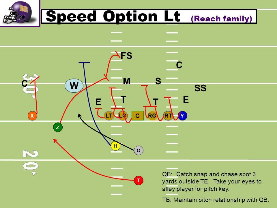 Speed Option Lt (Reach family)