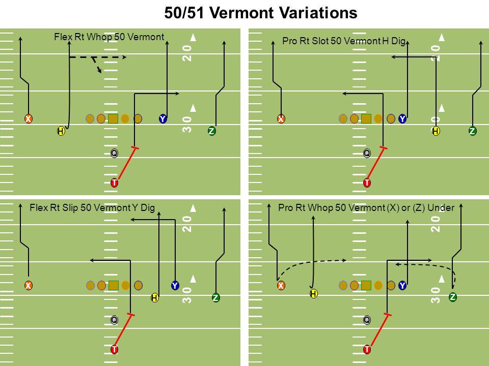 50/51 Vermont Variations 3 0. 2 0. 3 0. 2 0. Flex Rt Whop 50 Vermont. Pro Rt Slot 50 Vermont H Dig.