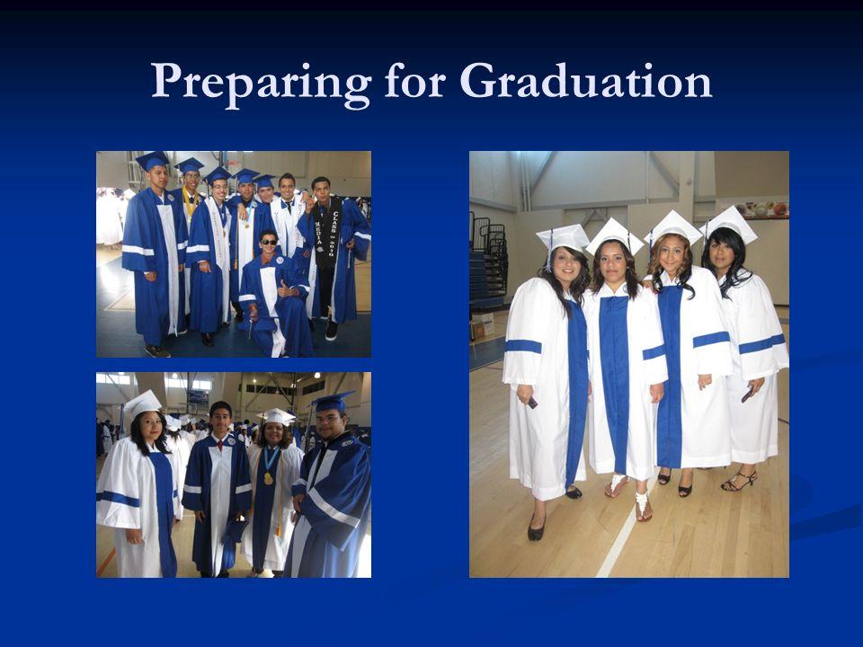 Preparing for Graduation
