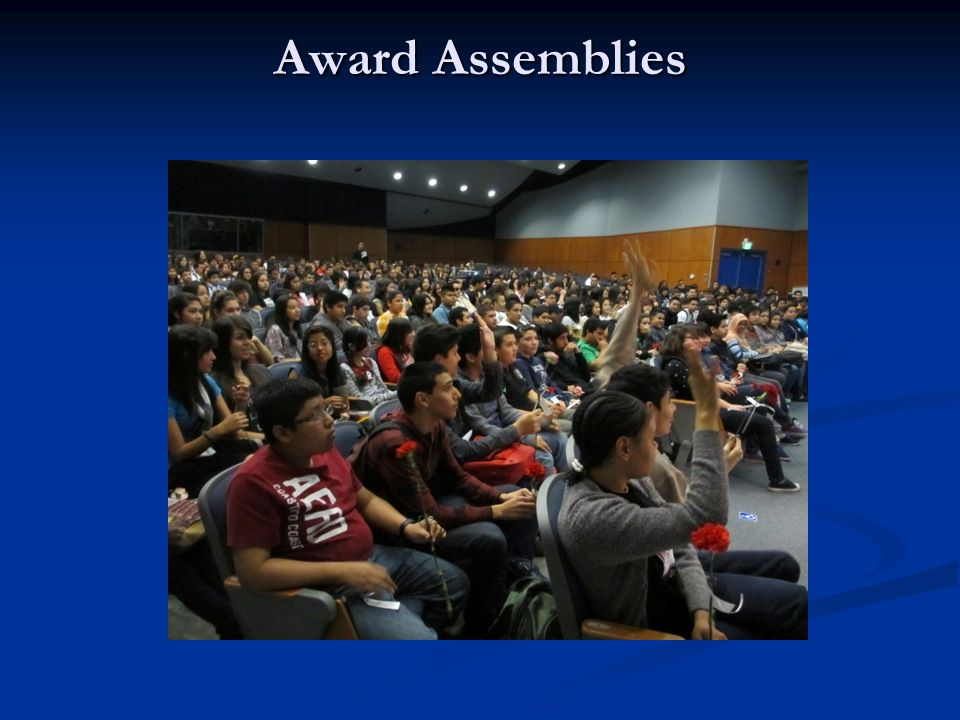 Award Assemblies