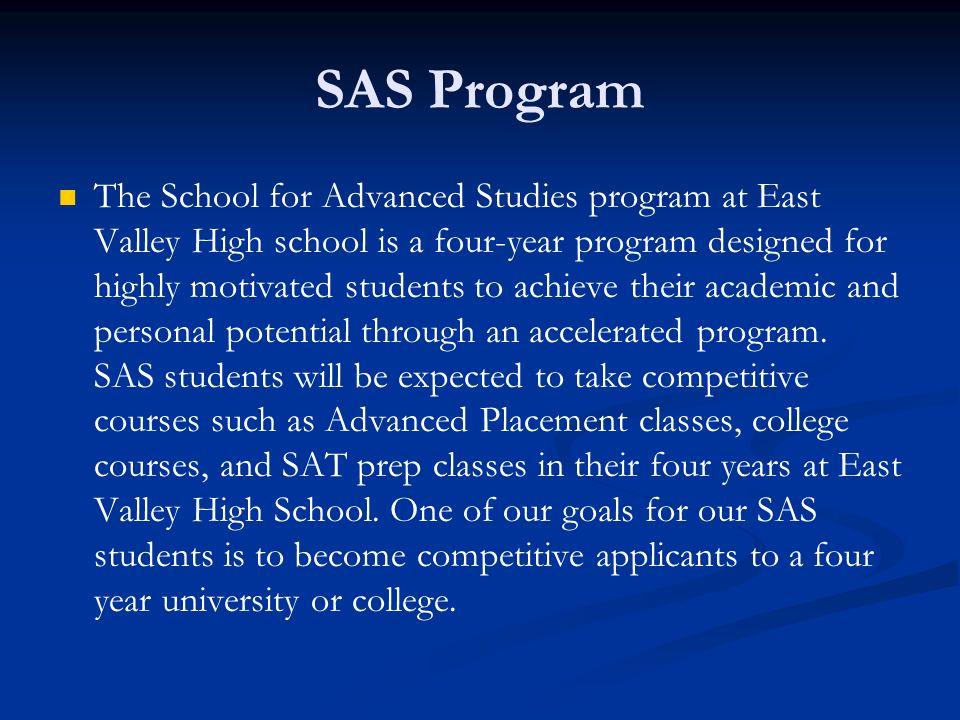 SAS Program