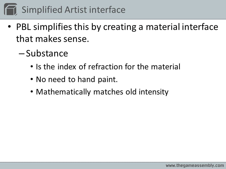 Simplified Artist interface