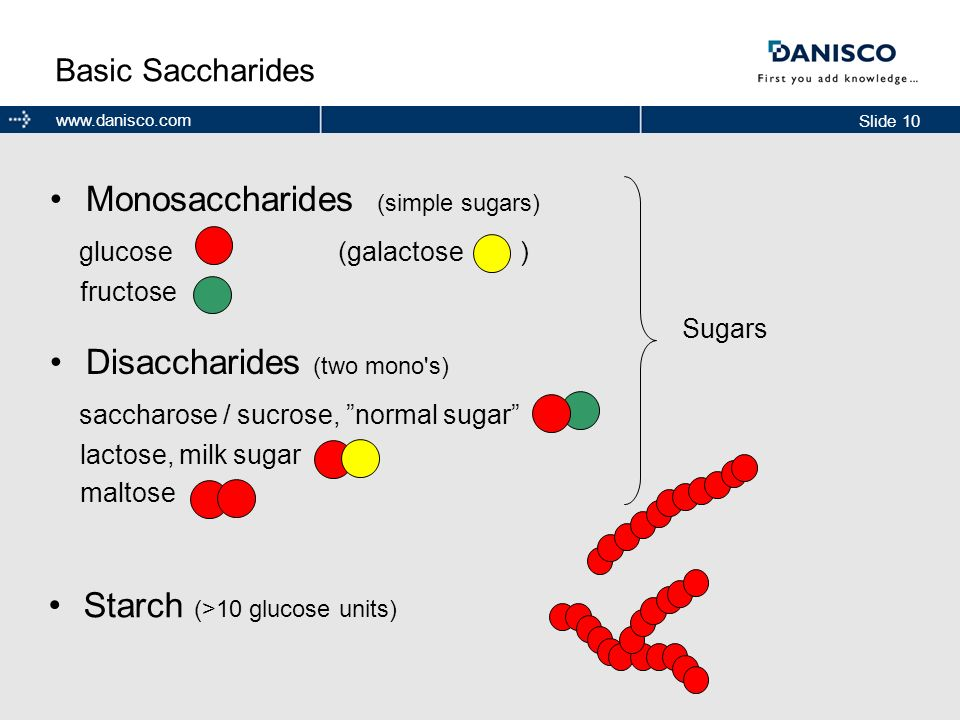 Starch (>10 glucose units)