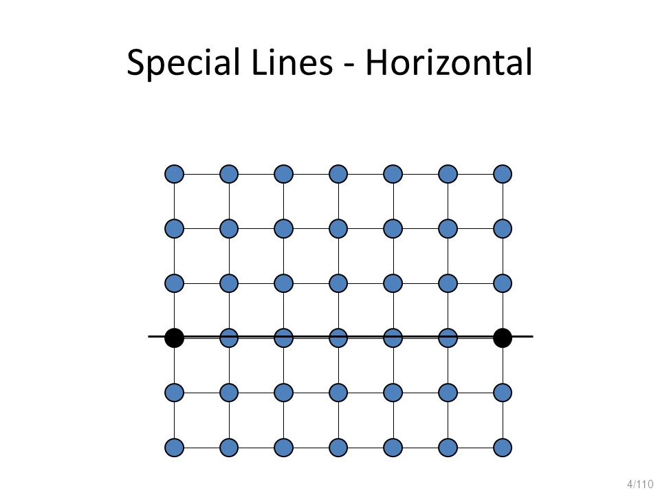 Special Lines - Horizontal