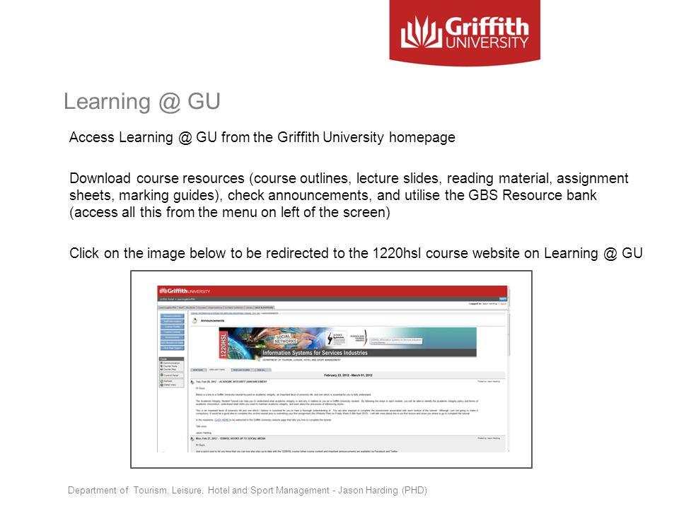 Learning @ GU