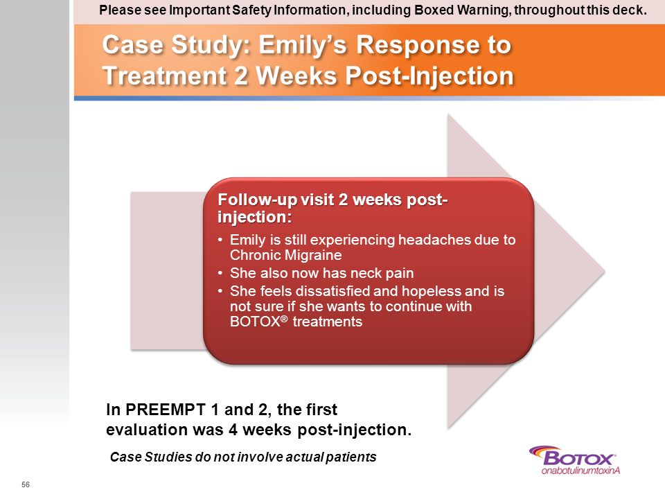 Case Study: Emily's Response to Treatment 2 Weeks Post-Injection