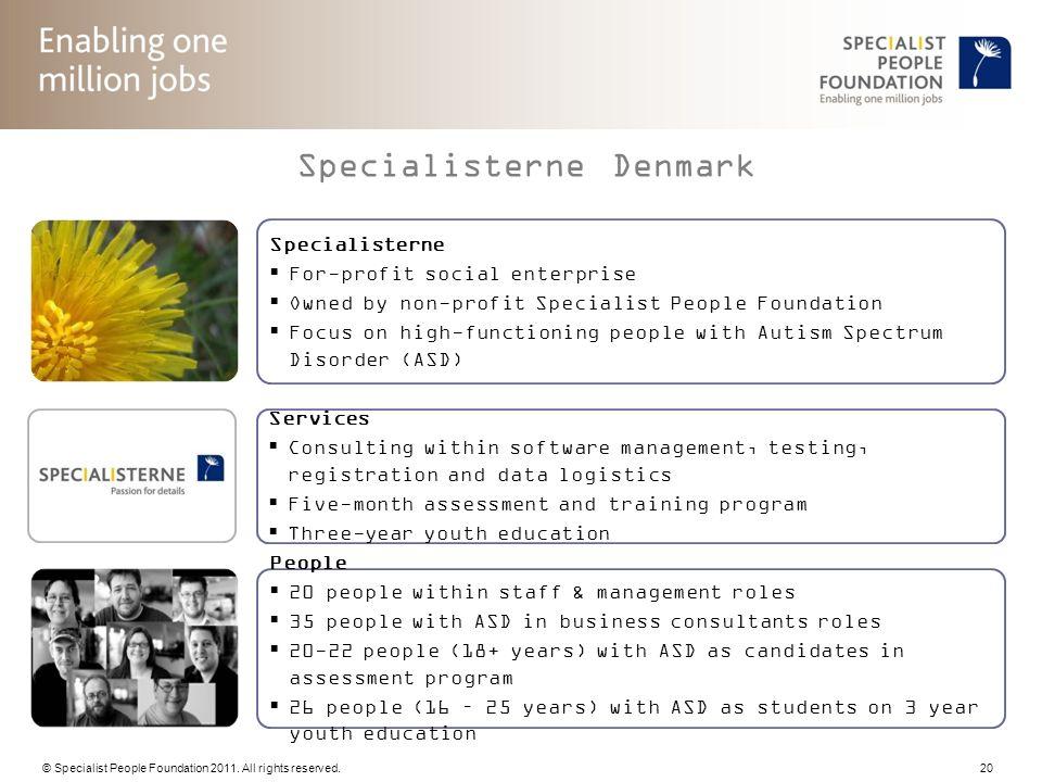 Specialisterne Denmark