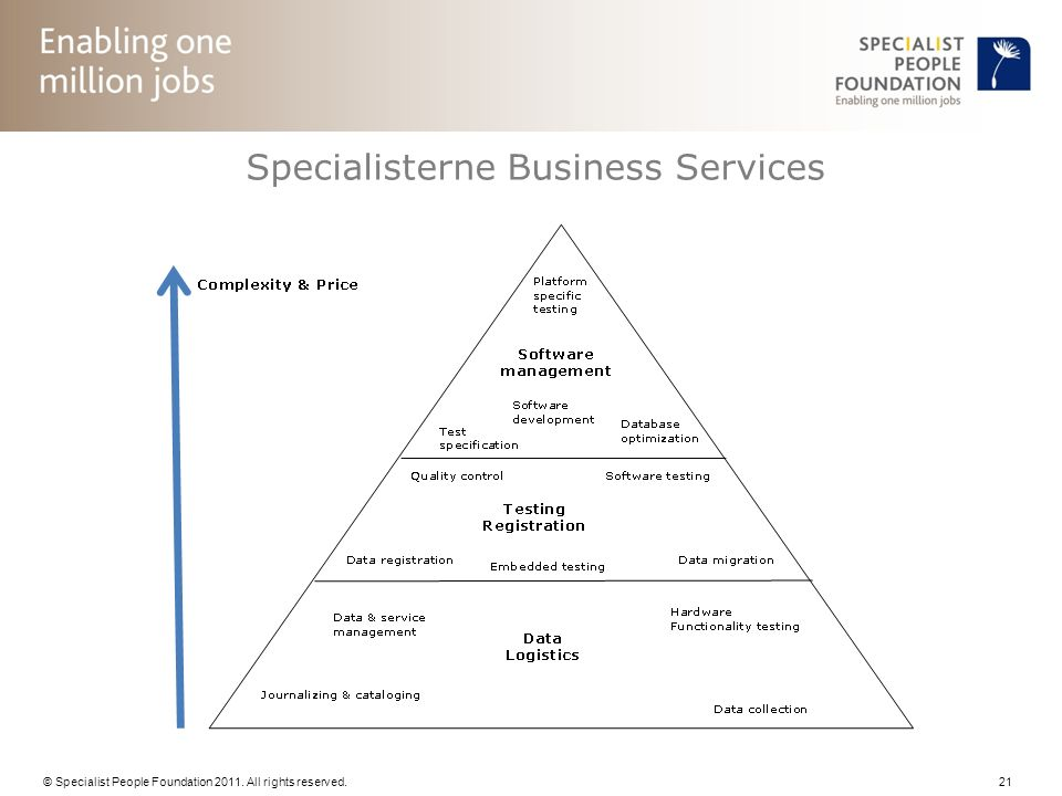 Specialisterne Business Services