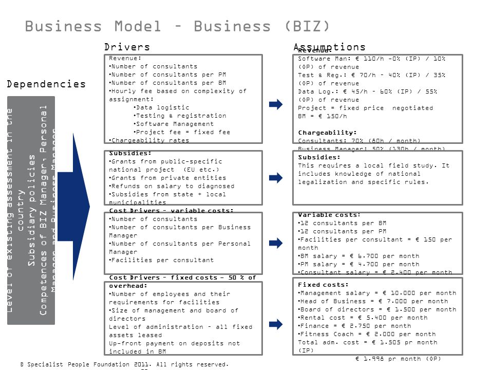 Business Model – Business (BIZ)