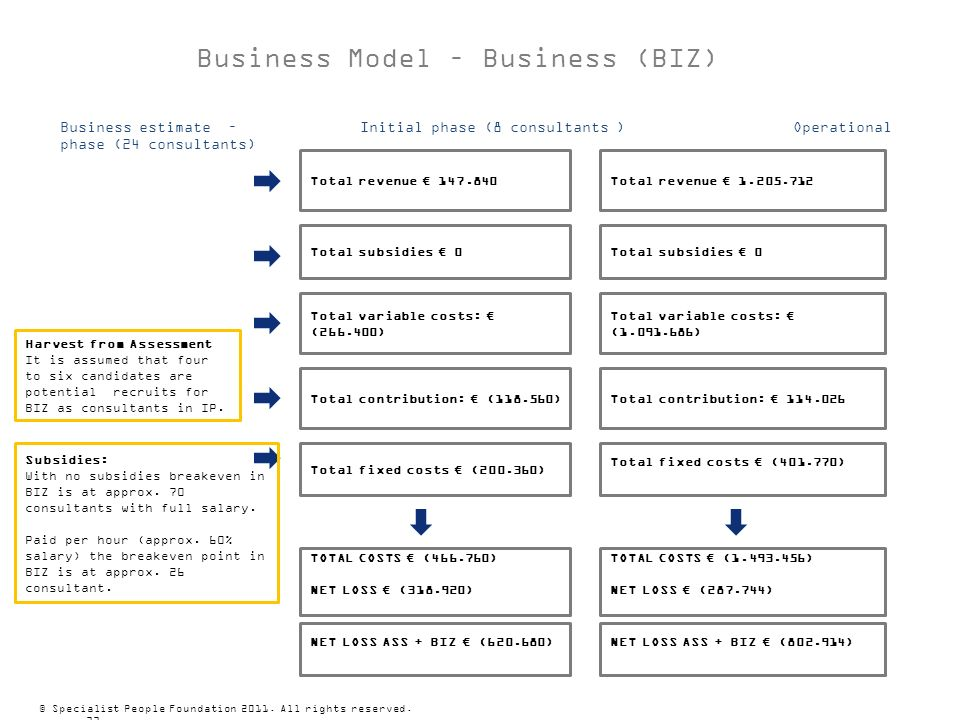 Business Model – Business (BIZ)