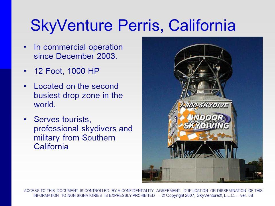 SkyVenture Perris, California