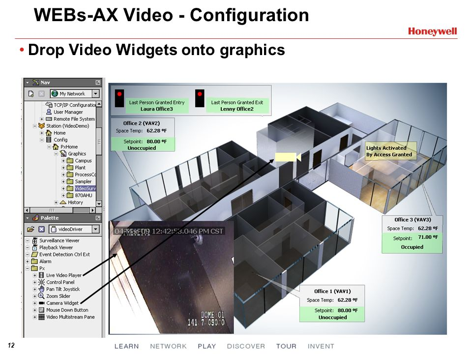 WEBs-AX Video - Configuration