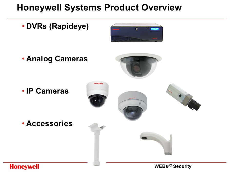 Honeywell Systems Product Overview