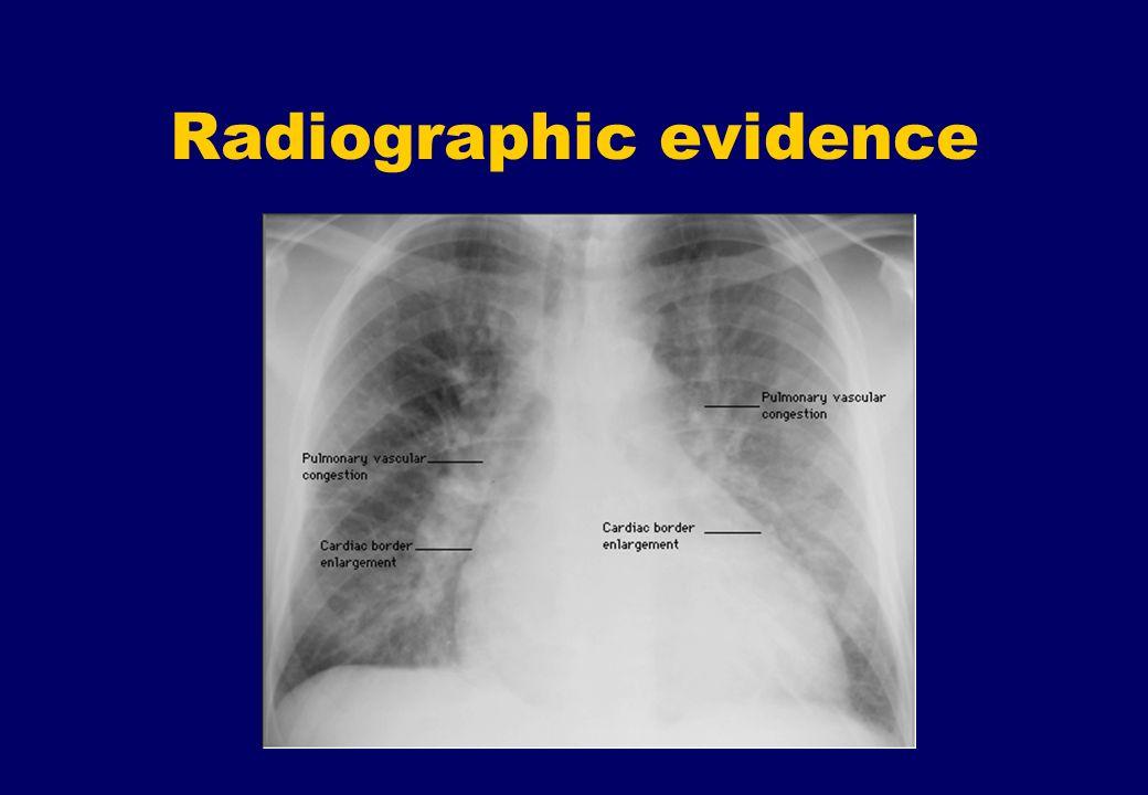 Radiographic evidence
