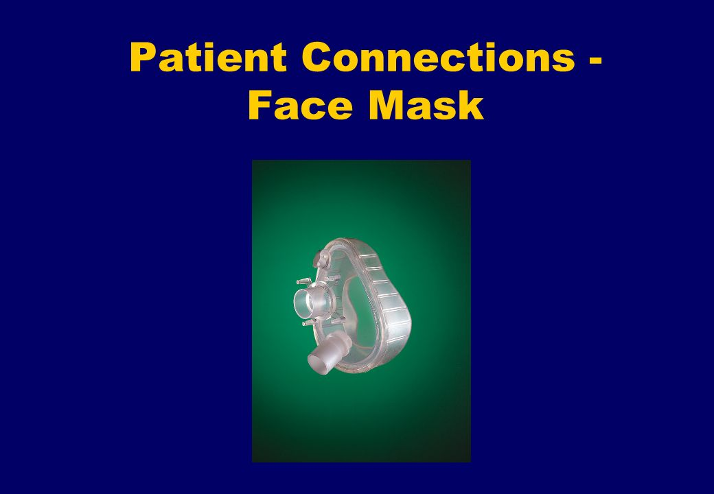 Patient Connections - Face Mask