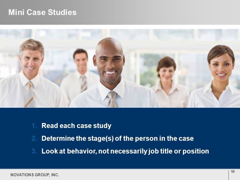 Mini Case Studies Read each case study