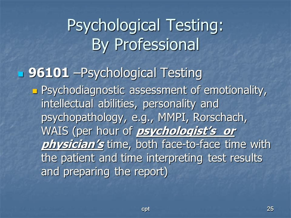 Psychological Testing: By Professional