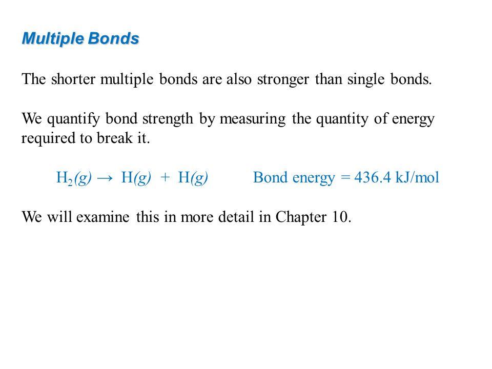 H2(g) → H(g) + H(g) Bond energy = 436.4 kJ/mol