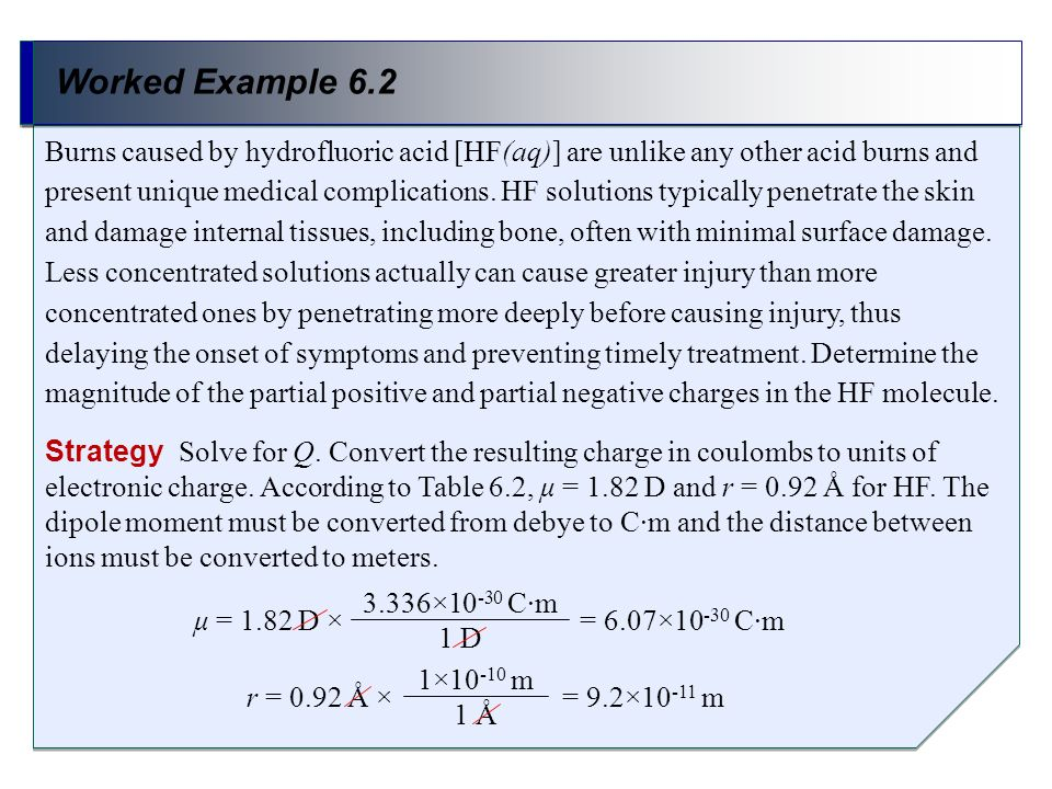 Worked Example 6.2