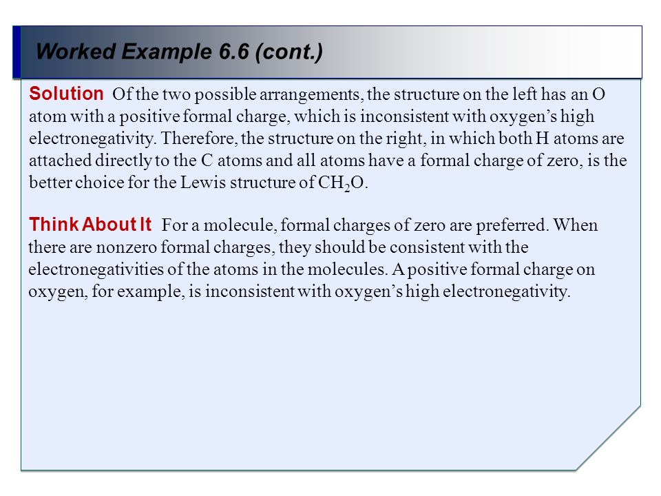 Worked Example 6.6 (cont.)