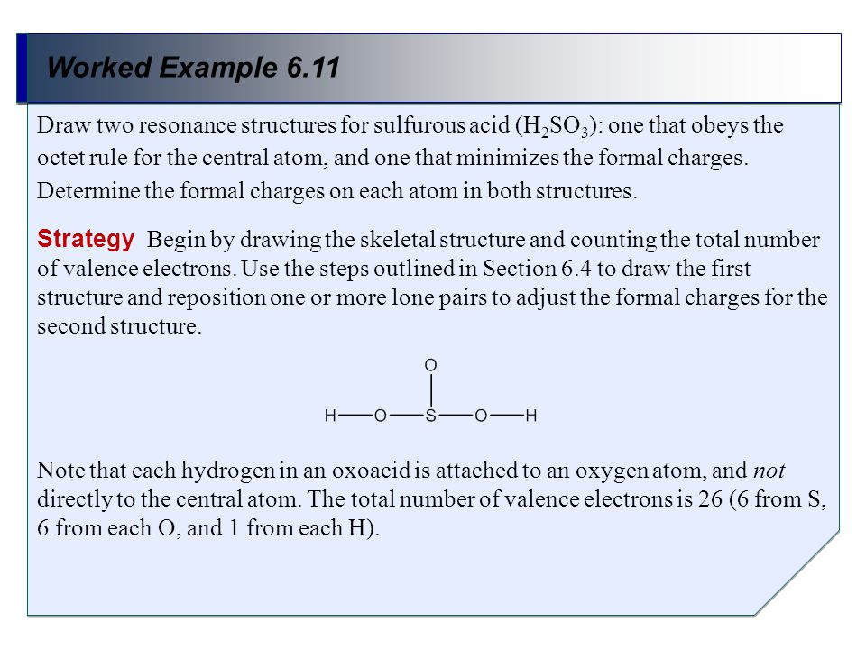 Worked Example 6.11