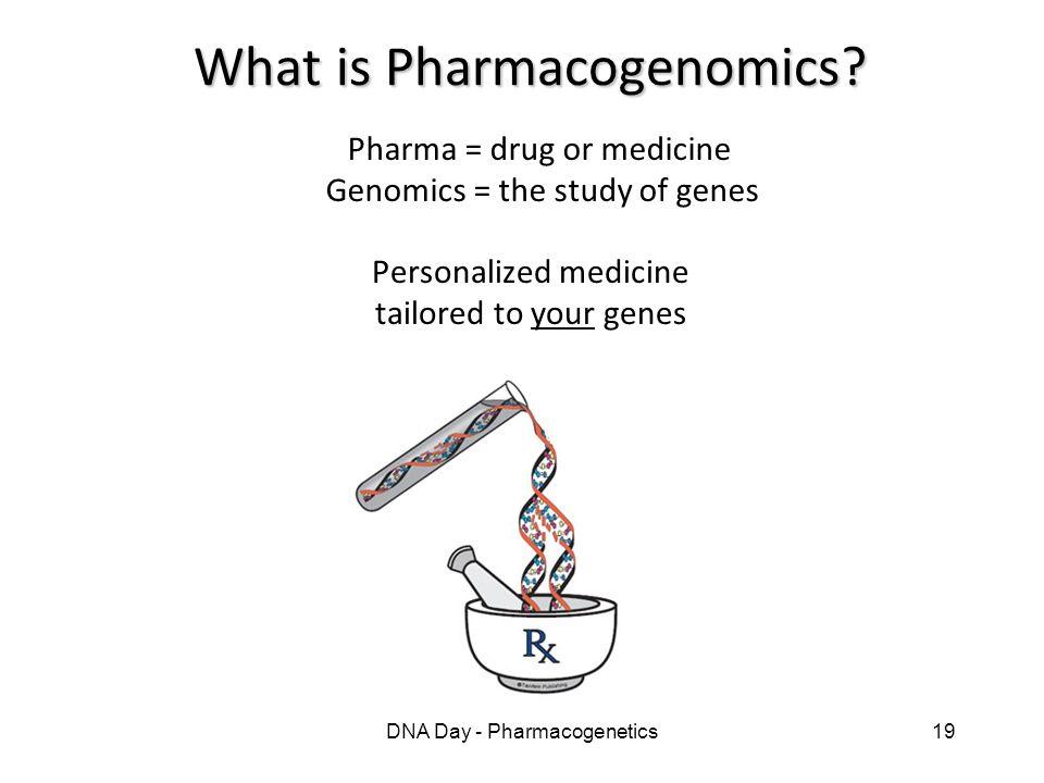 What is Pharmacogenomics
