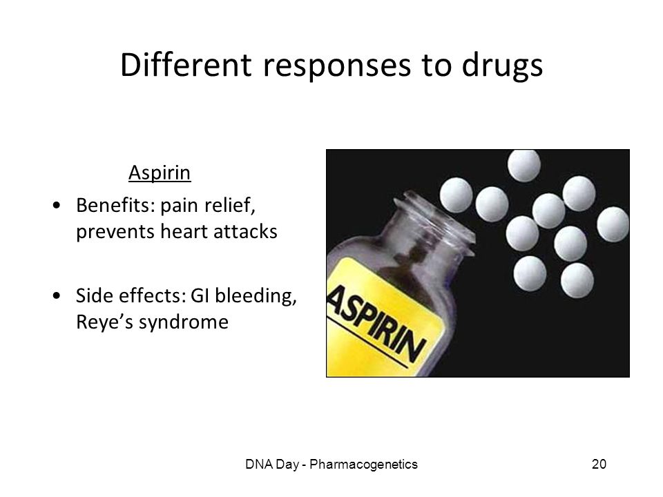 Different responses to drugs