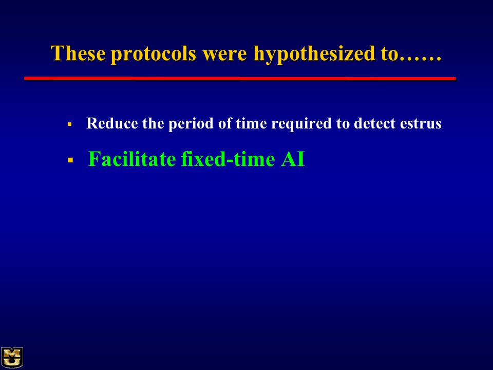 These protocols were hypothesized to……