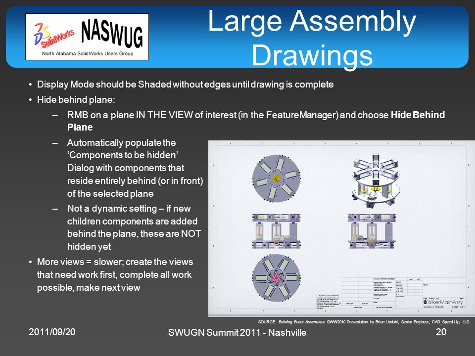 Large Assembly Drawings