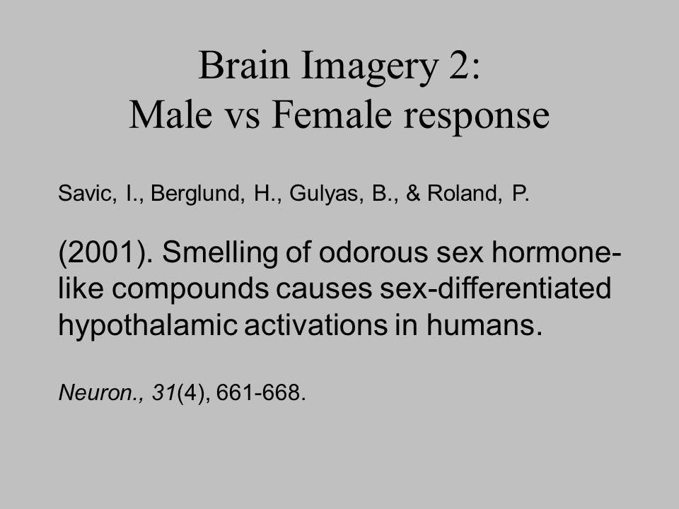Brain Imagery 2: Male vs Female response