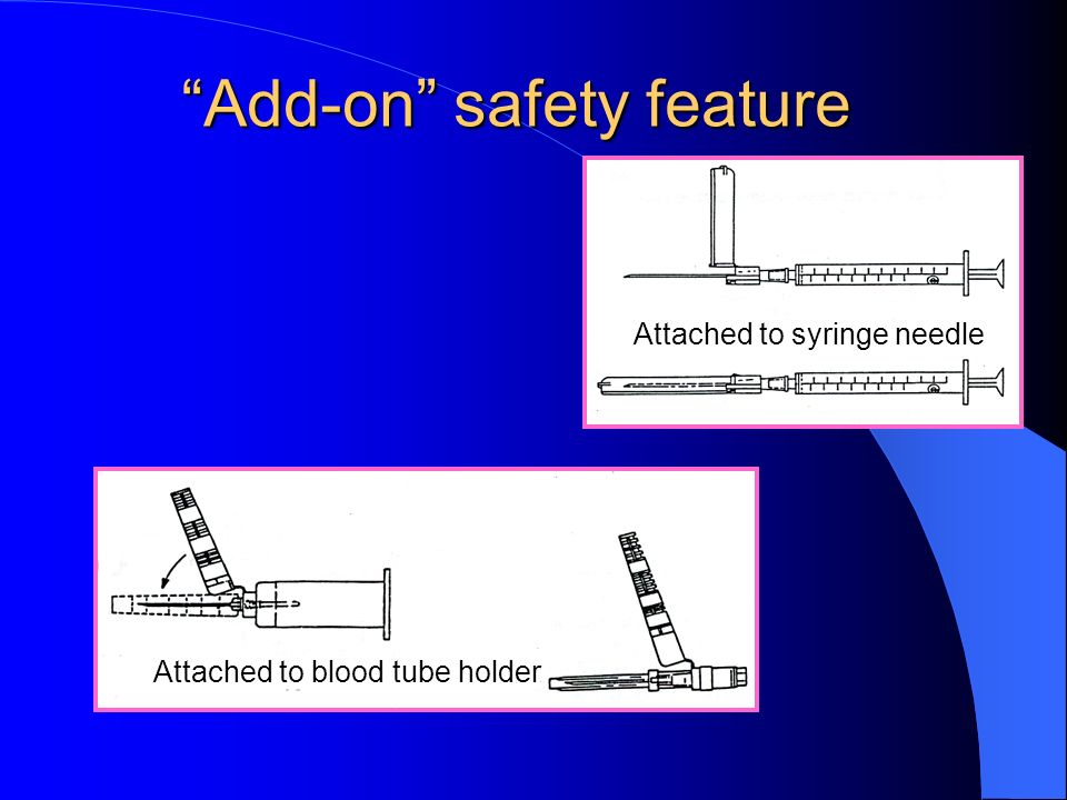 Add-on safety feature