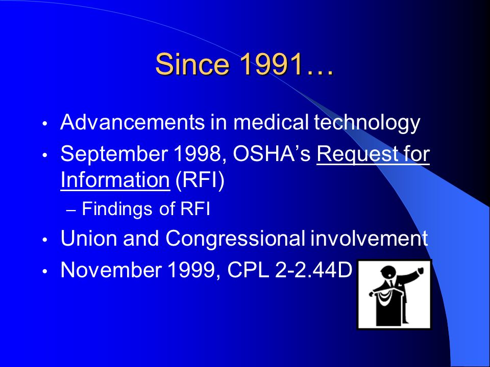Since 1991… Advancements in medical technology