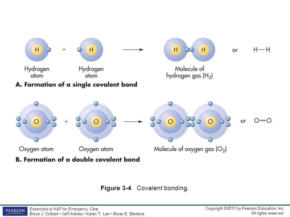 Figure 3-4 Covalent bonding.