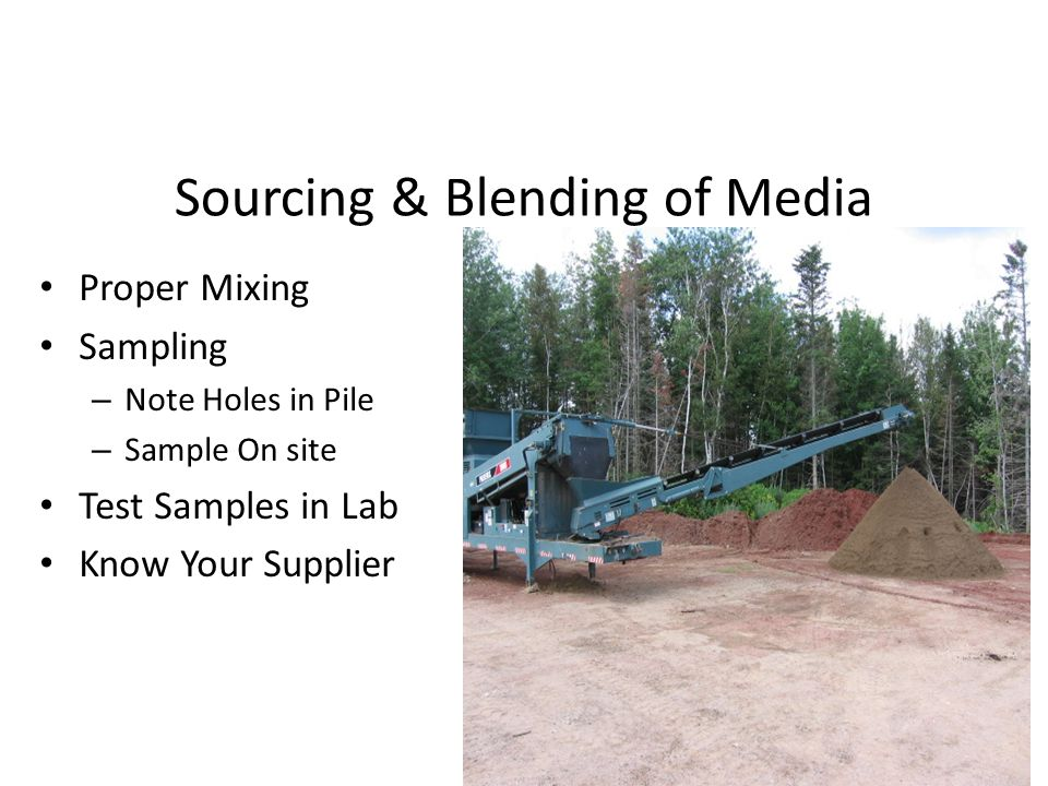 Sourcing & Blending of Media