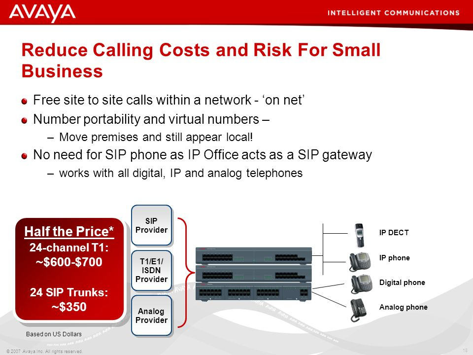 Reduce Calling Costs and Risk For Small Business
