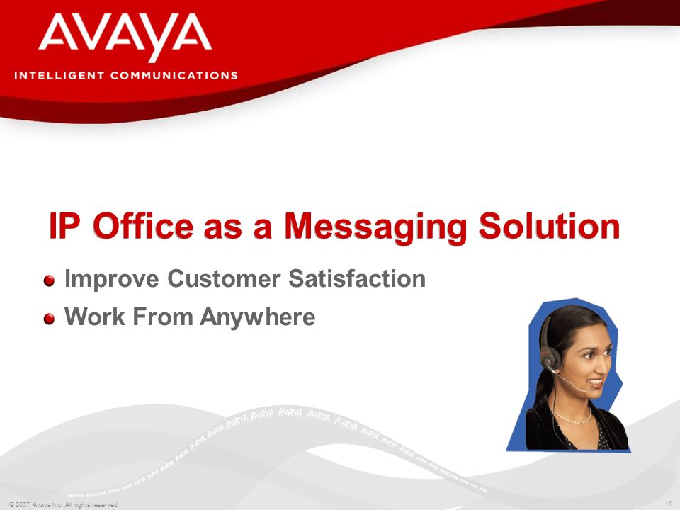 IP Office as a Messaging Solution