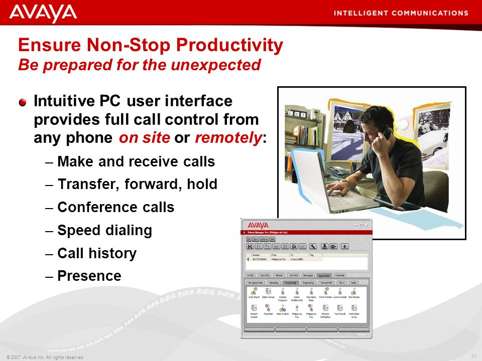 Ensure Non-Stop Productivity Be prepared for the unexpected