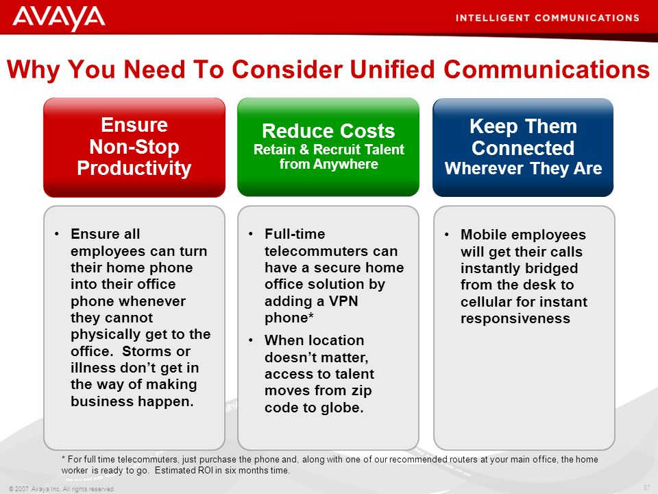 Why You Need To Consider Unified Communications