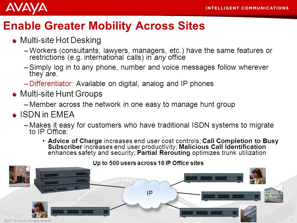 Enable Greater Mobility Across Sites