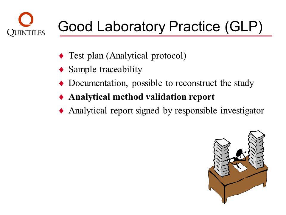 Good Laboratory Practice (GLP)