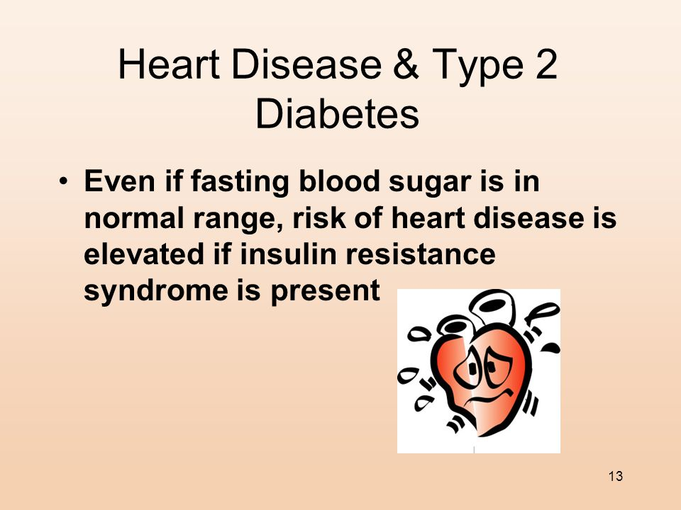Heart Disease & Type 2 Diabetes