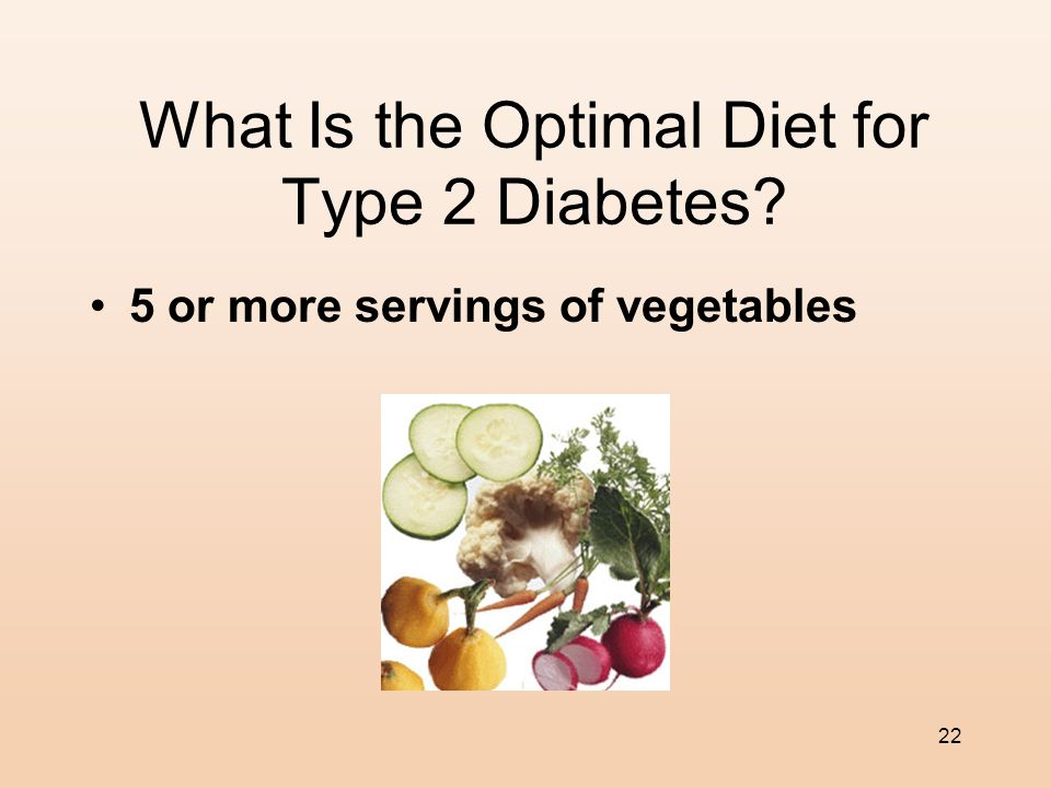 What Is the Optimal Diet for Type 2 Diabetes